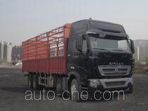 汕德卡牌ZZ5317CCYV466HC1型仓栅式运输车