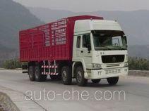 豪泺牌ZZ5317CLXM3861V型仓栅式运输车