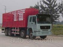 豪泺牌ZZ5317CLXM3861W型仓栅式运输车