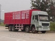 豪泺牌ZZ5317CLXM4661V型仓栅式运输车
