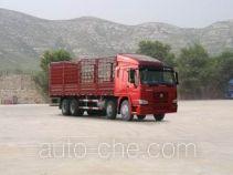 豪泺牌ZZ5317CLXN4668W型仓栅式运输车