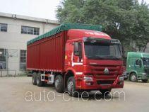 Sinotruk Howo ZZ5317CPYM3867D1B soft top box van truck