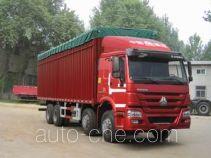 豪泺牌ZZ5317CPYM3867D1H型蓬式运输车