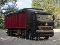 Sinotruk Howo ZZ5317CPYM3867P1B soft top box van truck