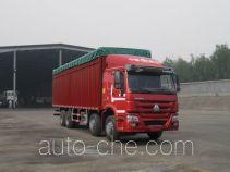 Sinotruk Howo ZZ5317CPYM4667D1B soft top box van truck