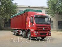 Sinotruk Howo ZZ5317CPYN3867D1B soft top box van truck