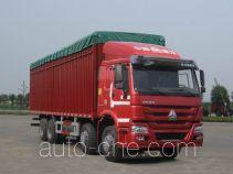 Sinotruk Howo ZZ5317CPYN3867D1LB soft top box van truck