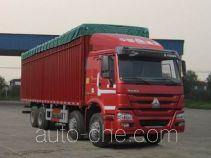 Sinotruk Howo ZZ5317CPYN3867D1LH soft top box van truck