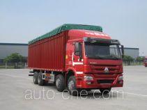 豪泺牌ZZ5317CPYN3867E1LB型蓬式运输车