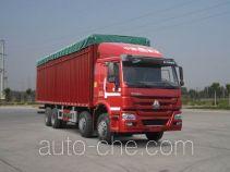 Sinotruk Howo ZZ5317CPYN3867E1LH soft top box van truck