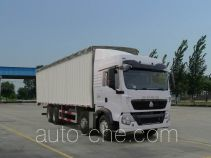 Sinotruk Howo ZZ5317CPYN386GC1 soft top box van truck