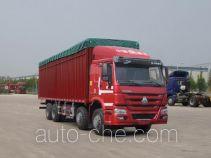 Sinotruk Howo ZZ5317CPYN4667D1LH soft top box van truck