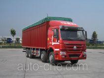 Sinotruk Howo ZZ5317CPYN4667E1LB soft top box van truck