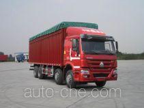 豪泺牌ZZ5317CPYN4667E1LH型蓬式运输车