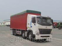 豪泺牌ZZ5317CPYN4667P1LH型蓬式运输车