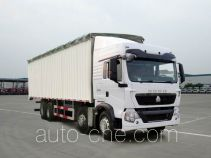Sinotruk Howo ZZ5317CPYN466GD1 soft top box van truck