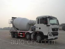豪沃牌ZZ5317GJBN306GD1型混凝土搅拌运输车