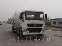 豪沃牌ZZ5317GJBN306GD1B型混凝土搅拌运输车
