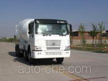 豪泺牌ZZ5317GJBN3261W型混凝土搅拌运输车