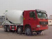 豪泺牌ZZ5317GJBN3267D1型混凝土搅拌运输车