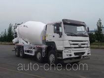 豪沃牌ZZ5317GJBN3267E1型混凝土搅拌运输车