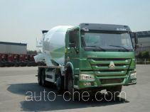 豪沃牌ZZ5317GJBN3667E1L型混凝土搅拌运输车