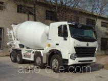 豪泺牌ZZ5317GJBN3667P1型混凝土搅拌运输车