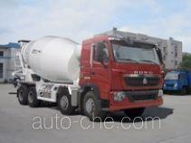 豪沃牌ZZ5317GJBN366HD1型混凝土搅拌运输车