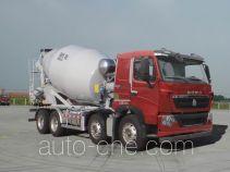 豪沃牌ZZ5317GJBV326HD1型混凝土搅拌运输车