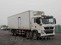 豪沃牌ZZ5317XLCN466GD1型冷藏车