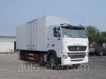 Sinotruk Howo ZZ5317XXYN466WE1 box van truck