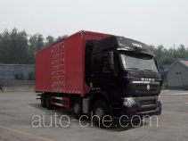 Sinotruk Howo ZZ5317XXYV466HE1 box van truck