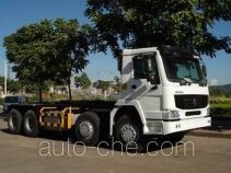 Sinotruk Howo ZZ5317ZXXN3268C2 detachable body garbage truck