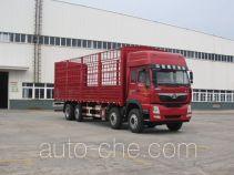 豪曼牌ZZ5318CCYKM0EK0型仓栅式运输车