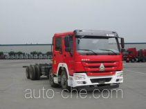 豪沃牌ZZ5437V4667E5型特种作业车底盘