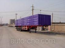 Sida Steyr ZZ9286XXY321 box body van trailer