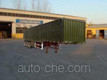 Hongyunda ZZK9401XXY box body van trailer