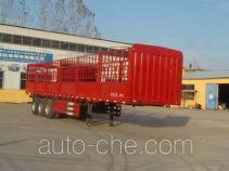 鸿运达牌ZZK9400CCY型仓栅式运输半挂车