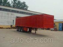 Hongyunda ZZK9405XXY box body van trailer