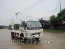 中商汽车牌ZZS5080TPB型平板运输车