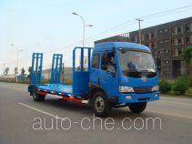 中商汽车牌ZZS5161TPB型平板运输车
