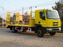 中商汽车牌ZZS5163TPB型平板运输车