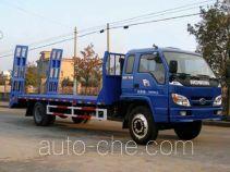 中商汽车牌ZZS5164TPB型平板运输车