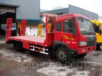 中商汽车牌ZZS5165TPB型平板运输车