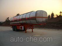 中商汽车牌ZZS9290GHY型化工液体运输半挂车