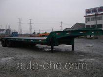 中商汽车牌ZZS9350TDP型低平板半挂车