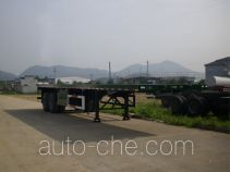 Zhongshang Auto ZZS9351P flatbed trailer