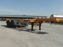 Zhongshang Auto ZZS9352TJZ container transport trailer