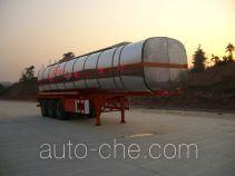 中商汽车牌ZZS9380GHY型化工液体运输半挂车