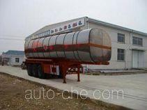 中商汽车牌ZZS9402GHY型化工液体运输半挂车